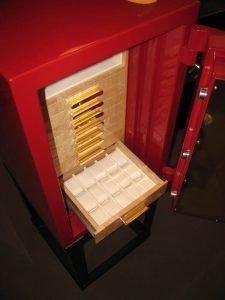 G6-2412-12 Custom Red Safe